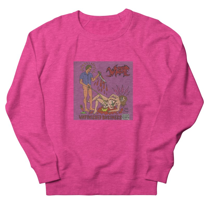 Whore Men's Sweatshirt by Mike Diana T-Shirts! Horrible Ugly Heads Limited E