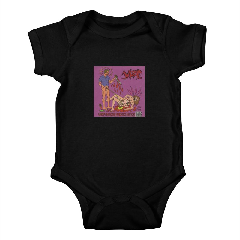 Whore Kids Baby Bodysuit by Mike Diana T-Shirts! Horrible Ugly Heads Limited E