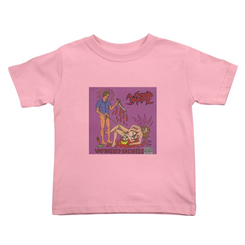 Whore Kids Toddler T-Shirt by Mike Diana T-Shirts! Horrible Ugly Heads Limited E