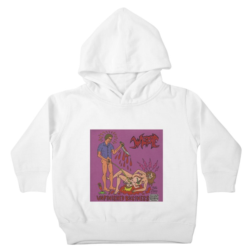 Whore Kids Toddler Pullover Hoody by Mike Diana T-Shirts! Horrible Ugly Heads Limited E