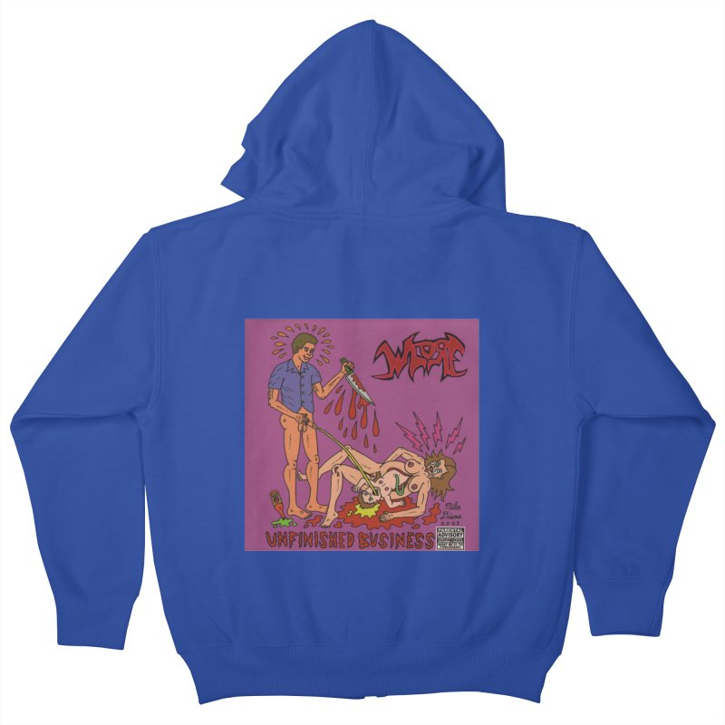 Whore Kids Zip-Up Hoody by Mike Diana T-Shirts! Horrible Ugly Heads Limited E