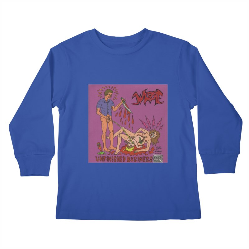 Whore Kids Longsleeve T-Shirt by Mike Diana T-Shirts! Horrible Ugly Heads Limited E
