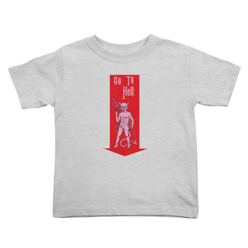 Go To Hell Kids  by Mike Diana T-Shirts! Horrible Ugly Heads Limited E