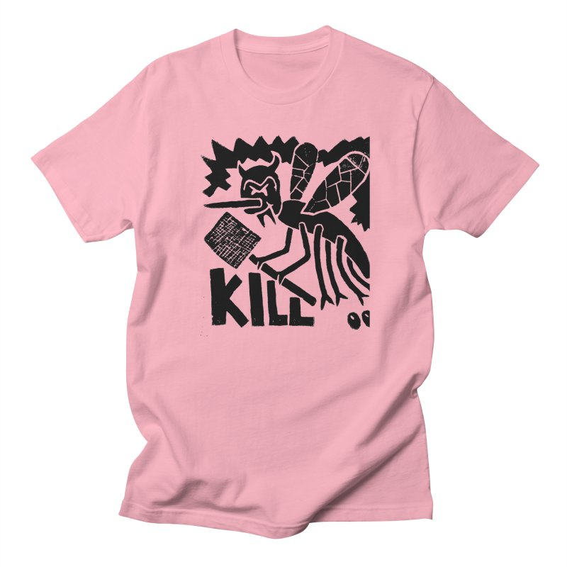 Kill! Mike Diana! Men's T-shirt by Mike Diana T-Shirts! Horrible Ugly Heads Limited E