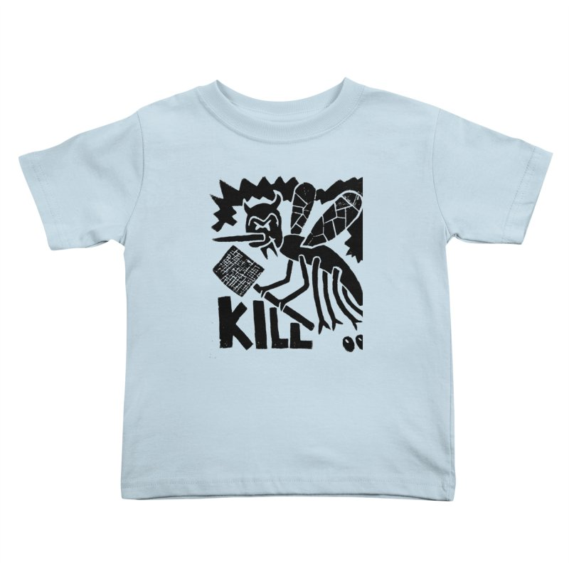 Kill! Mike Diana! Kids Toddler T-Shirt by Mike Diana T-Shirts! Horrible Ugly Heads Limited E