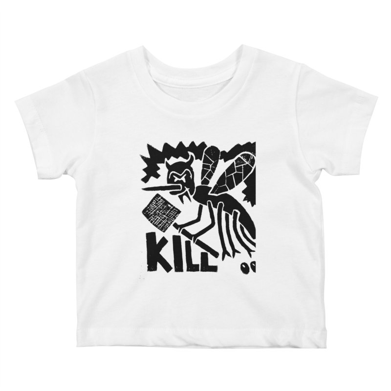 Kill! Mike Diana! Kids Baby T-Shirt by Mike Diana T-Shirts! Horrible Ugly Heads Limited E