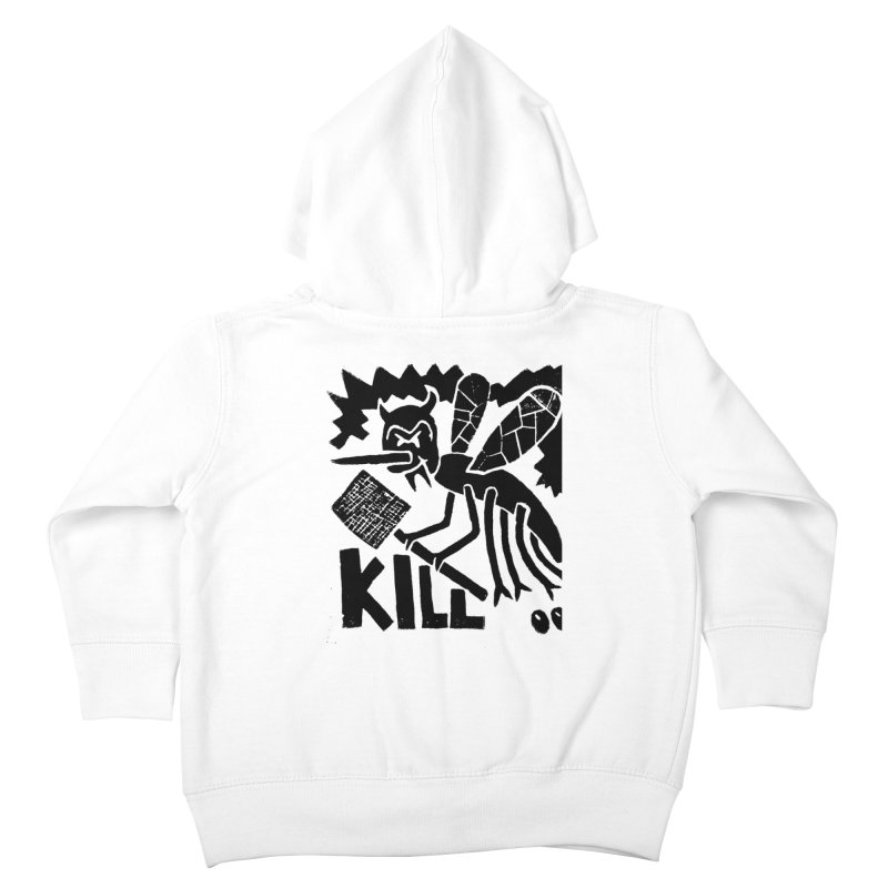 Kill! Mike Diana! Kids Toddler Zip-Up Hoody by Mike Diana T-Shirts! Horrible Ugly Heads Limited E