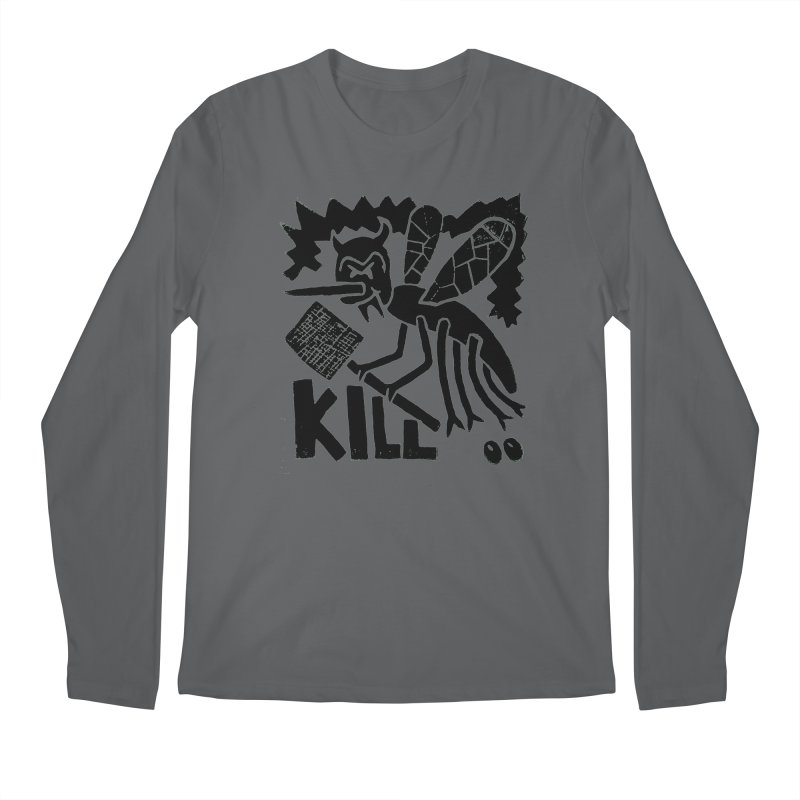 Kill! Mike Diana! Men's Longsleeve T-Shirt by Mike Diana T-Shirts Mugs and More!