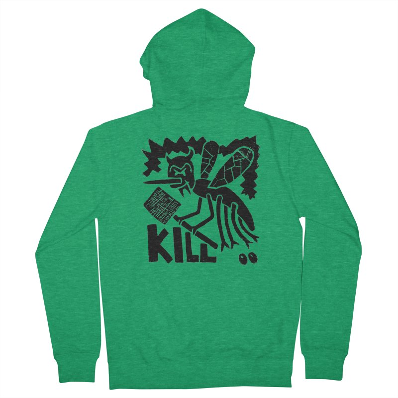 Kill! Mike Diana! Women's Zip-Up Hoody by Mike Diana T-Shirts! Horrible Ugly Heads Limited E