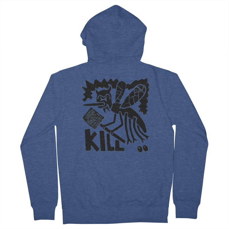 Kill! Mike Diana! Men's Zip-Up Hoody by Mike Diana T-Shirts! Horrible Ugly Heads Limited E