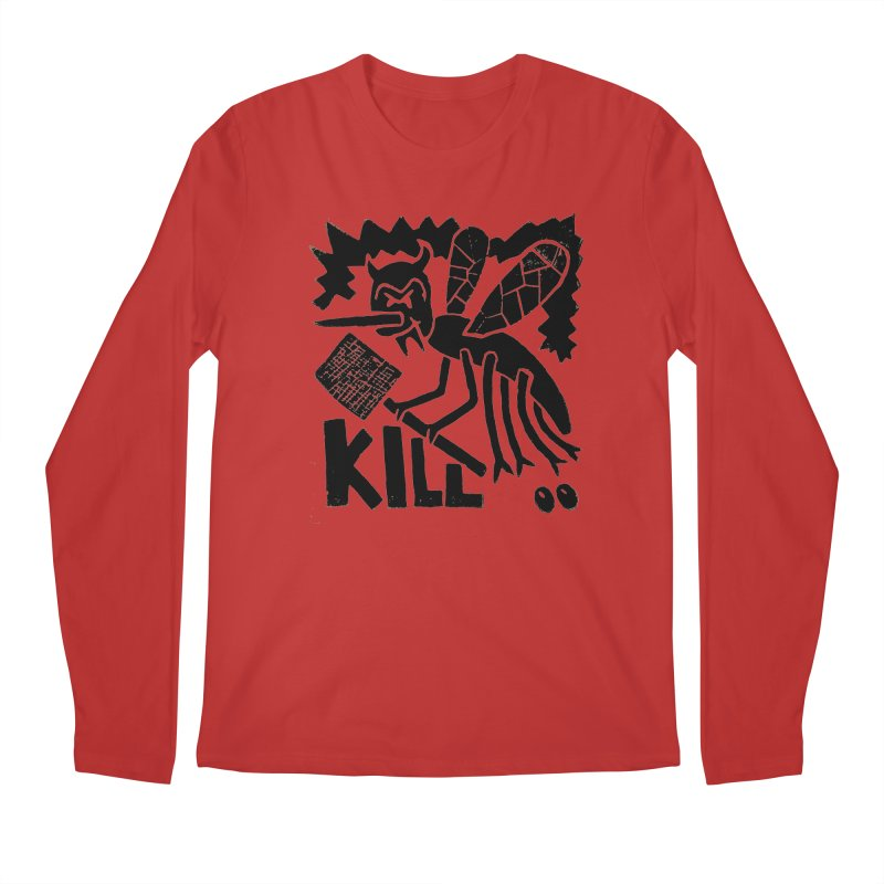 Kill! Mike Diana! Men's Longsleeve T-Shirt by Mike Diana T-Shirts! Horrible Ugly Heads Limited E