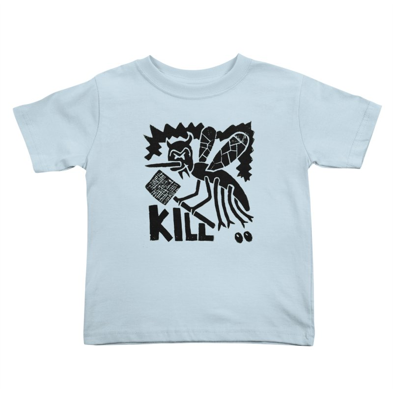 Kill! Mike Diana! Kids  by Mike Diana T-Shirts! Horrible Ugly Heads Limited E