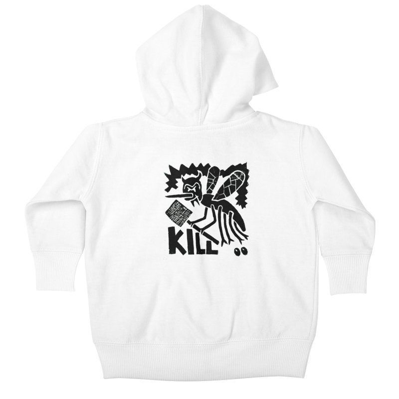 Kill! Mike Diana! Kids Baby Zip-Up Hoody by Mike Diana T-Shirts! Horrible Ugly Heads Limited E