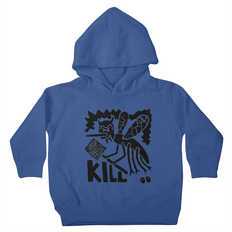 Kill! Mike Diana! Kids  by Mike Diana T-Shirts! Horrible Ugly Heads Limited E