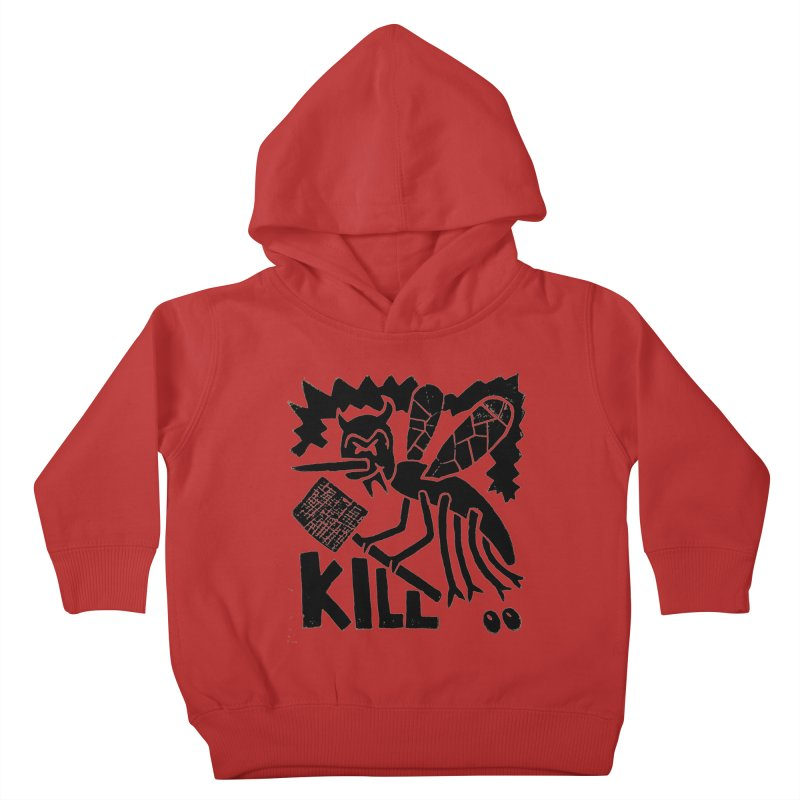 Kill! Mike Diana! Kids Toddler Pullover Hoody by Mike Diana T-Shirts! Horrible Ugly Heads Limited E