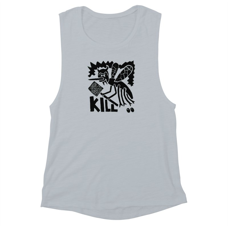 Kill! Mike Diana! Women's Muscle Tank by Mike Diana T-Shirts! Horrible Ugly Heads Limited E