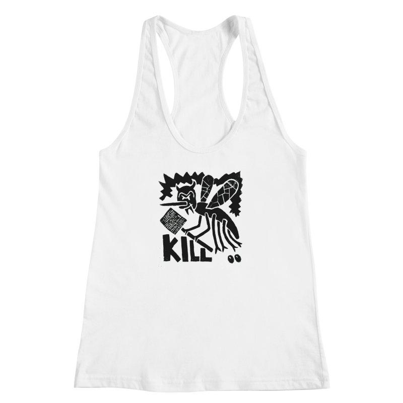 Kill! Mike Diana! Women's  by Mike Diana T-Shirts! Horrible Ugly Heads Limited E