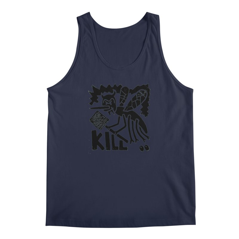 Kill! Mike Diana! Men's Tank by Mike Diana T-Shirts! Horrible Ugly Heads Limited E
