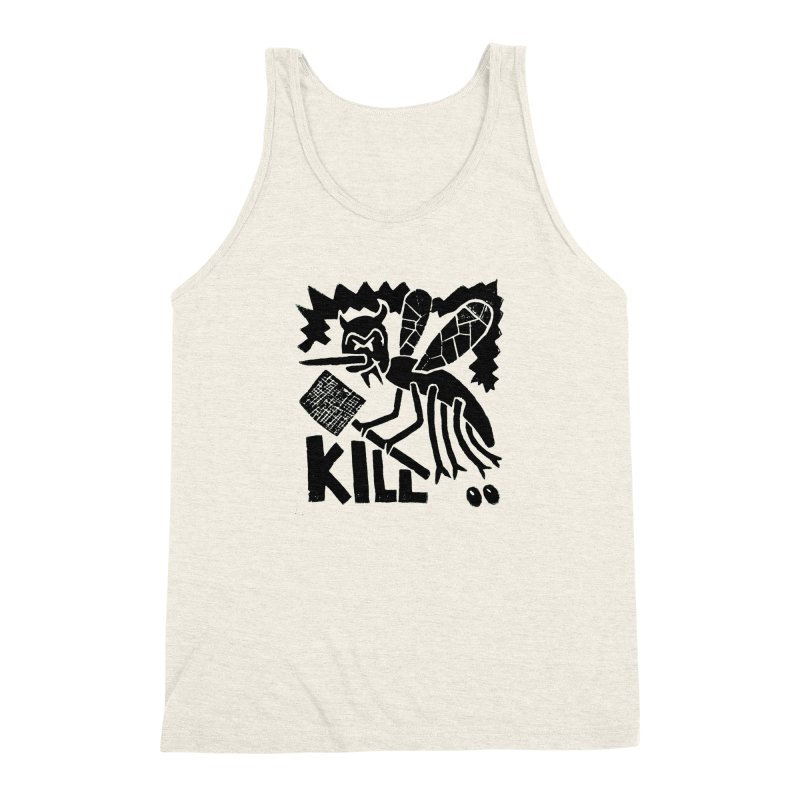 Kill! Mike Diana! Men's Triblend Tank by Mike Diana T-Shirts! Horrible Ugly Heads Limited E