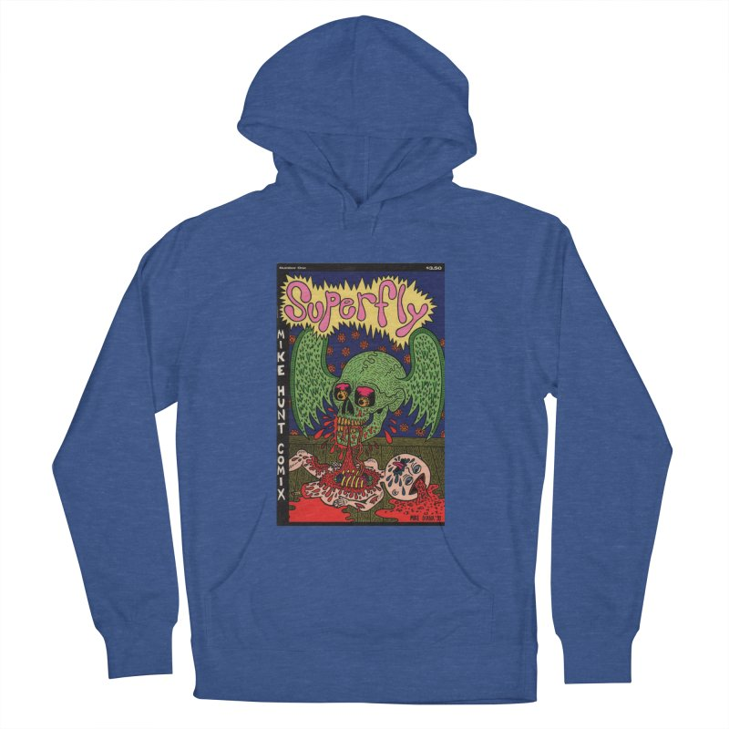 SUPERFLY Women's Pullover Hoody by Mike Diana T-Shirts! Horrible Ugly Heads Limited E