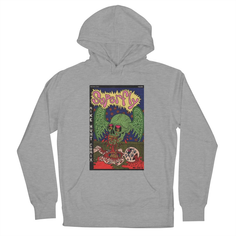 SUPERFLY Women's French Terry Pullover Hoody by Mike Diana T-Shirts Mugs and More!