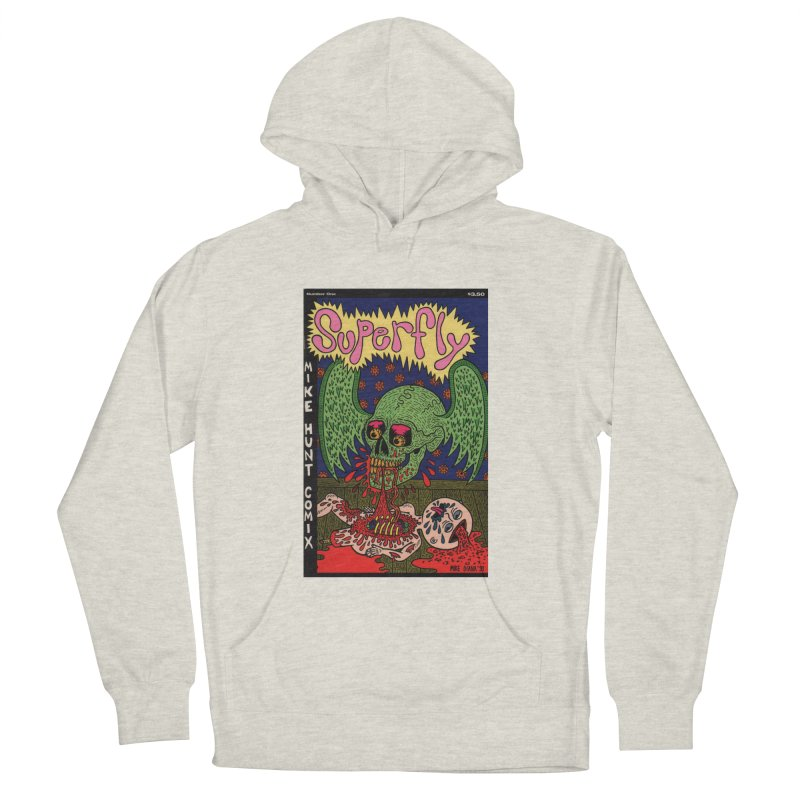 SUPERFLY Men's Pullover Hoody by Mike Diana T-Shirts! Horrible Ugly Heads Limited E