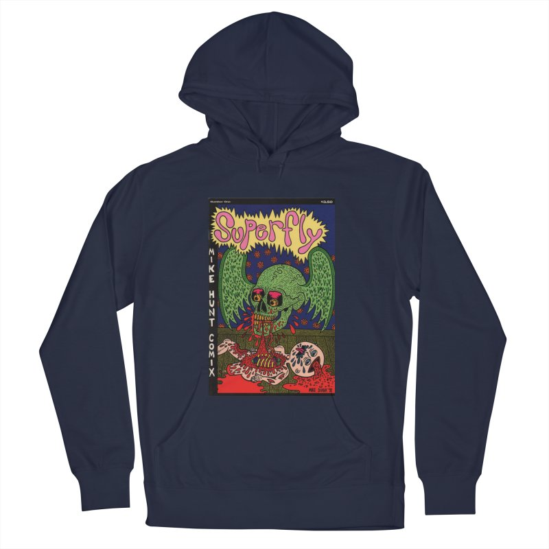 SUPERFLY Men's French Terry Pullover Hoody by Mike Diana T-Shirts Mugs and More!