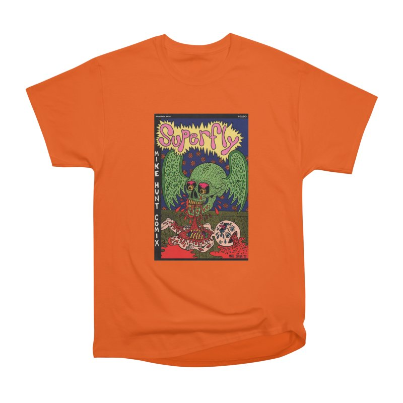 SUPERFLY Men's Heavyweight T-Shirt by Mike Diana T-Shirts! Horrible Ugly Heads Limited E