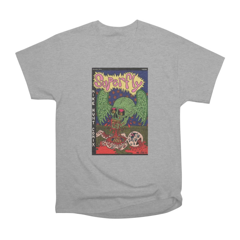 SUPERFLY Women's Heavyweight Unisex T-Shirt by Mike Diana T-Shirts Mugs and More!