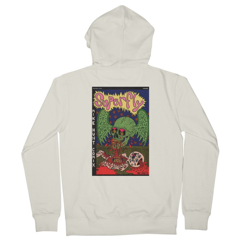 SUPERFLY Women's French Terry Zip-Up Hoody by Mike Diana T-Shirts Mugs and More!