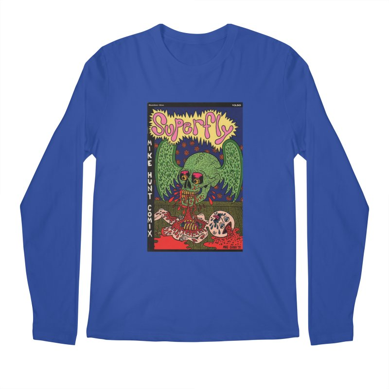 SUPERFLY Men's Longsleeve T-Shirt by Mike Diana T-Shirts! Horrible Ugly Heads Limited E
