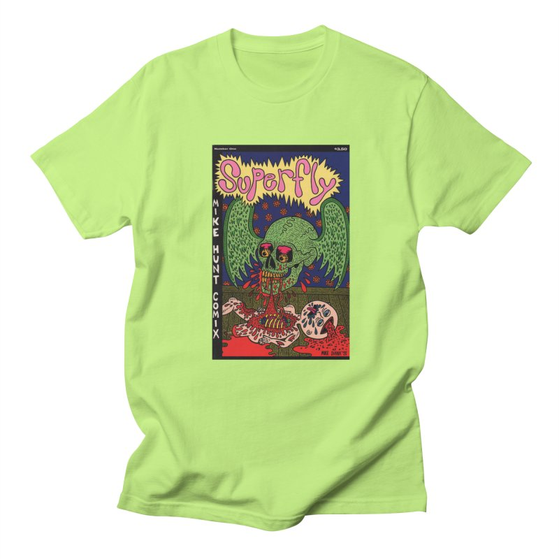 SUPERFLY Women's Regular Unisex T-Shirt by Mike Diana T-Shirts Mugs and More!