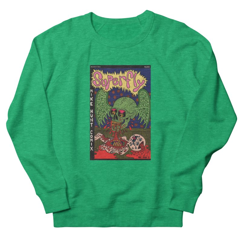 SUPERFLY Women's French Terry Sweatshirt by Mike Diana T-Shirts Mugs and More!
