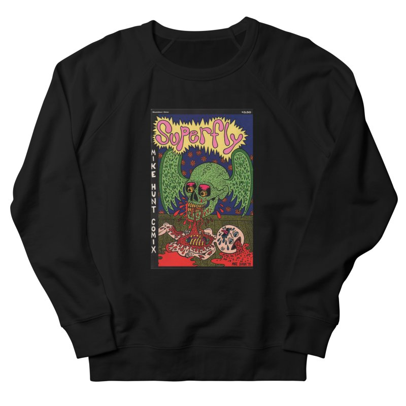 SUPERFLY Women's Sweatshirt by Mike Diana T-Shirts! Horrible Ugly Heads Limited E