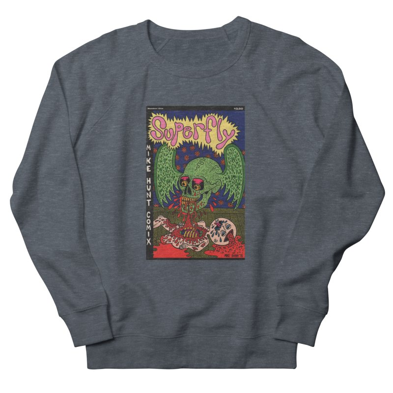 SUPERFLY Men's French Terry Sweatshirt by Mike Diana T-Shirts Mugs and More!