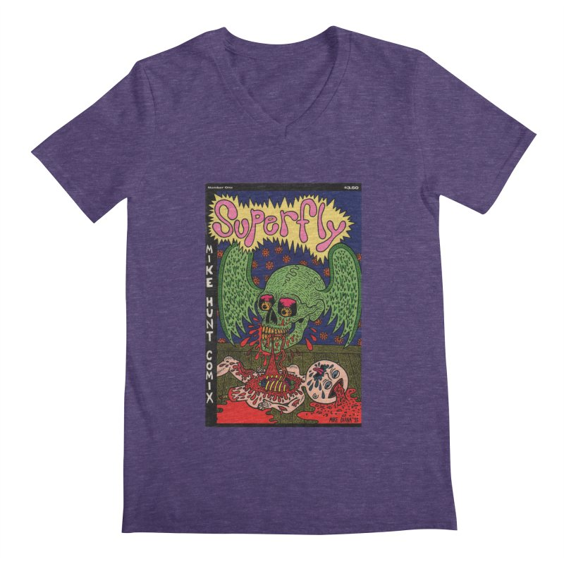 SUPERFLY Men's Regular V-Neck by Mike Diana T-Shirts Mugs and More!