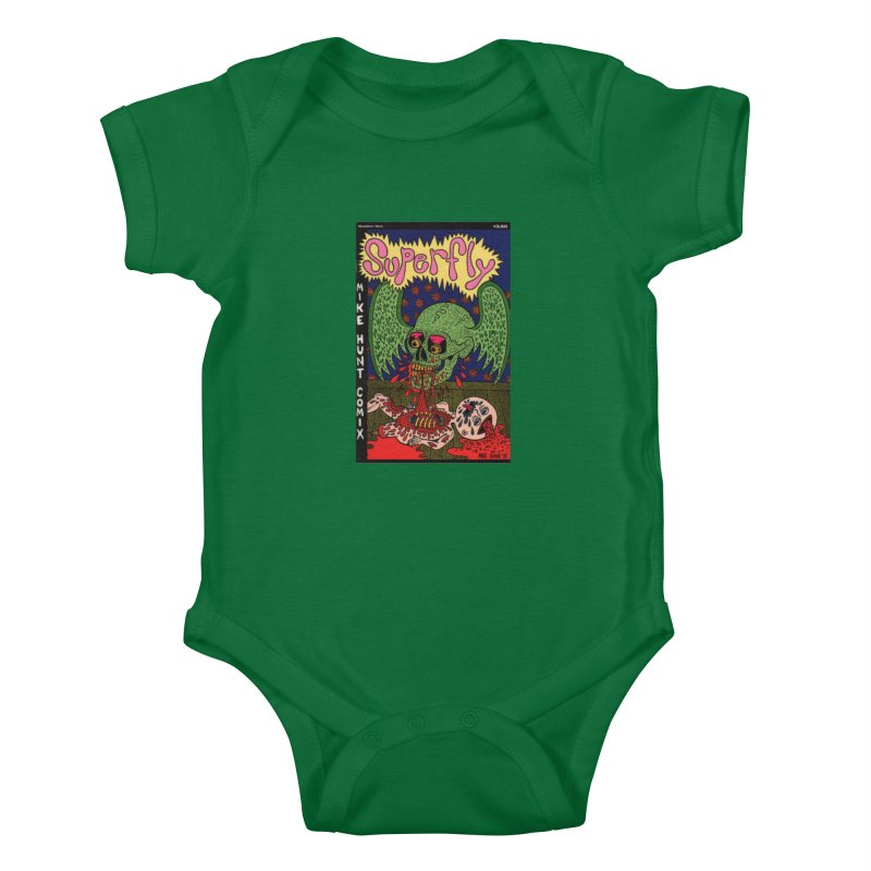 SUPERFLY Kids Baby Bodysuit by Mike Diana T-Shirts Mugs and More!