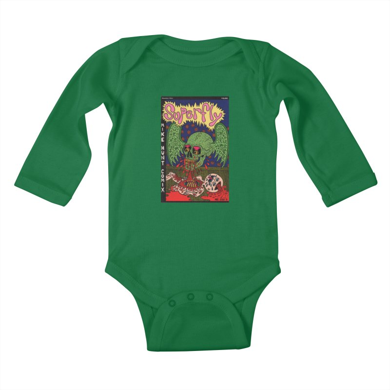 SUPERFLY Kids Baby Longsleeve Bodysuit by Mike Diana T-Shirts Mugs and More!