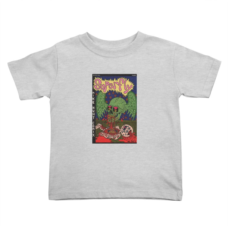 SUPERFLY Kids Toddler T-Shirt by Mike Diana T-Shirts Mugs and More!