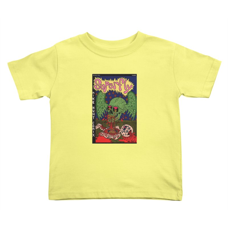 SUPERFLY Kids Toddler T-Shirt by Mike Diana T-Shirts! Horrible Ugly Heads Limited E