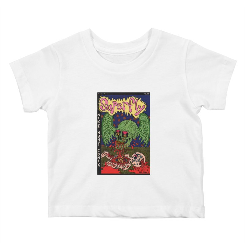 SUPERFLY Kids Baby T-Shirt by Mike Diana T-Shirts Mugs and More!