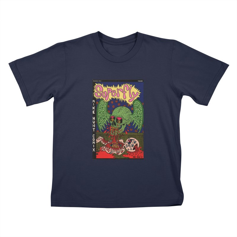 SUPERFLY Kids T-Shirt by Mike Diana T-Shirts Mugs and More!