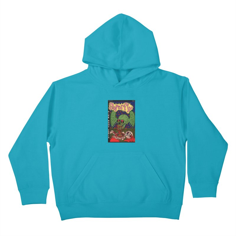 SUPERFLY Kids Pullover Hoody by Mike Diana T-Shirts Mugs and More!