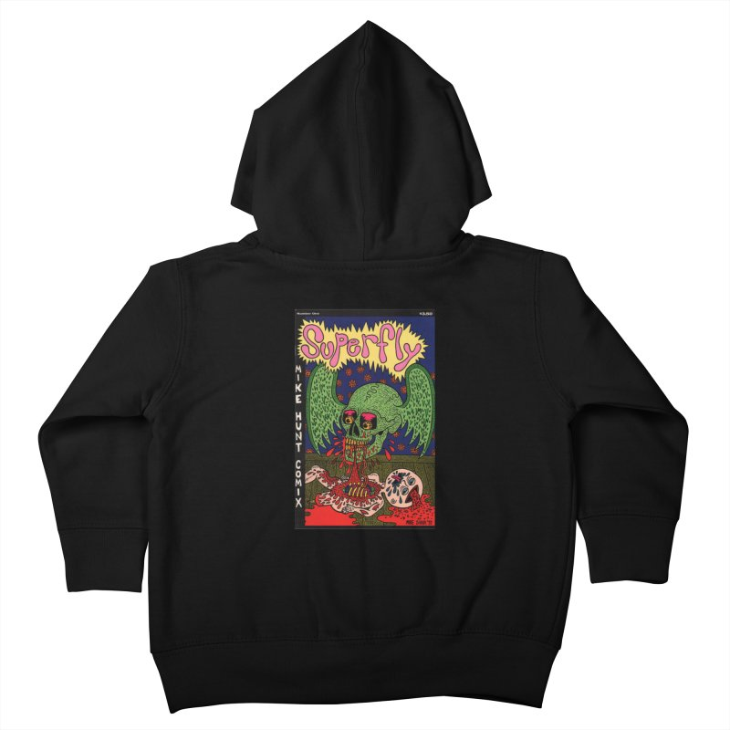 SUPERFLY Kids Toddler Zip-Up Hoody by Mike Diana T-Shirts! Horrible Ugly Heads Limited E