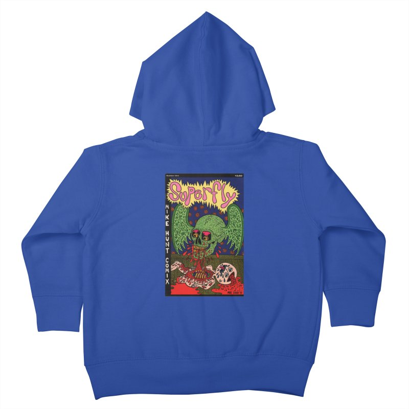 SUPERFLY Kids Toddler Zip-Up Hoody by Mike Diana T-Shirts Mugs and More!
