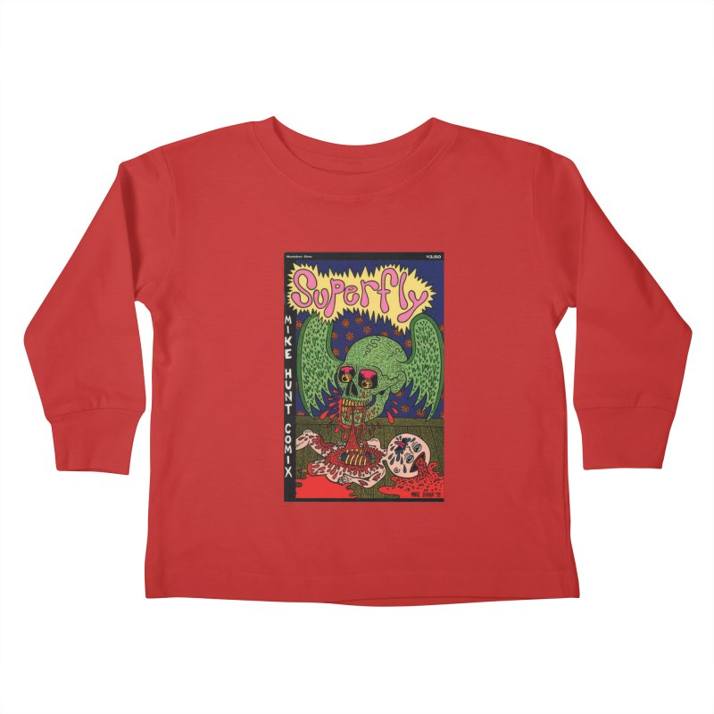 SUPERFLY Kids Toddler Longsleeve T-Shirt by Mike Diana T-Shirts Mugs and More!