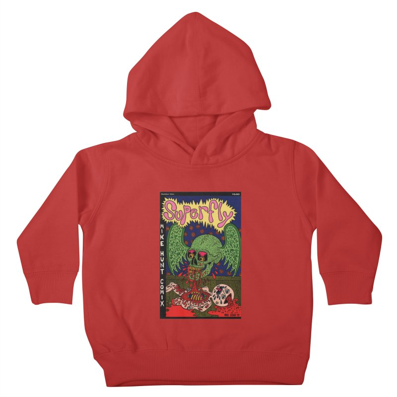SUPERFLY Kids Toddler Pullover Hoody by Mike Diana T-Shirts Mugs and More!