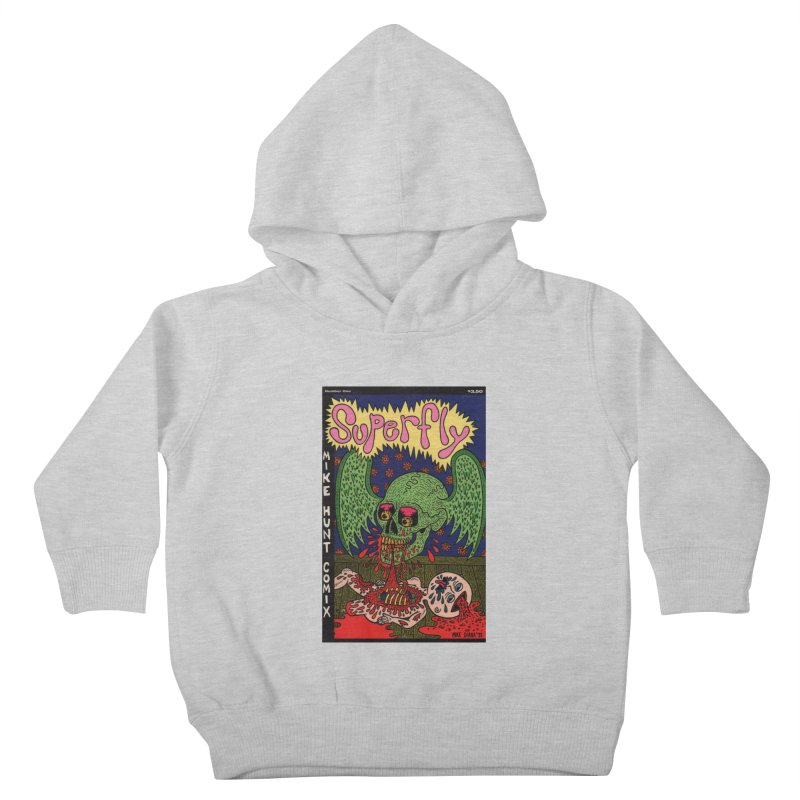 SUPERFLY Kids Toddler Pullover Hoody by Mike Diana T-Shirts! Horrible Ugly Heads Limited E