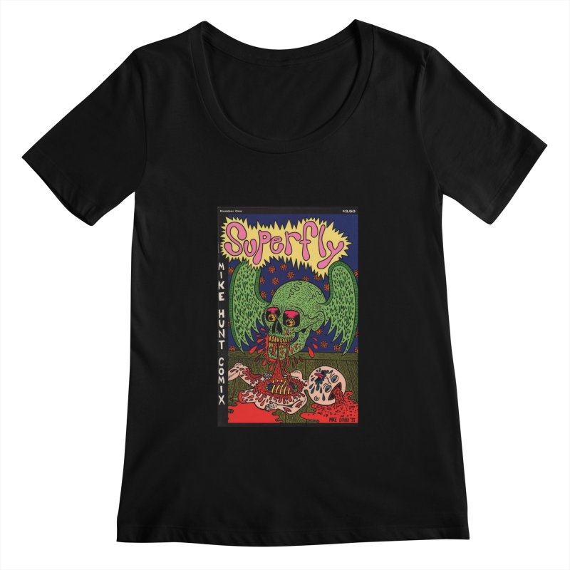 SUPERFLY Women's  by Mike Diana T-Shirts! Horrible Ugly Heads Limited E