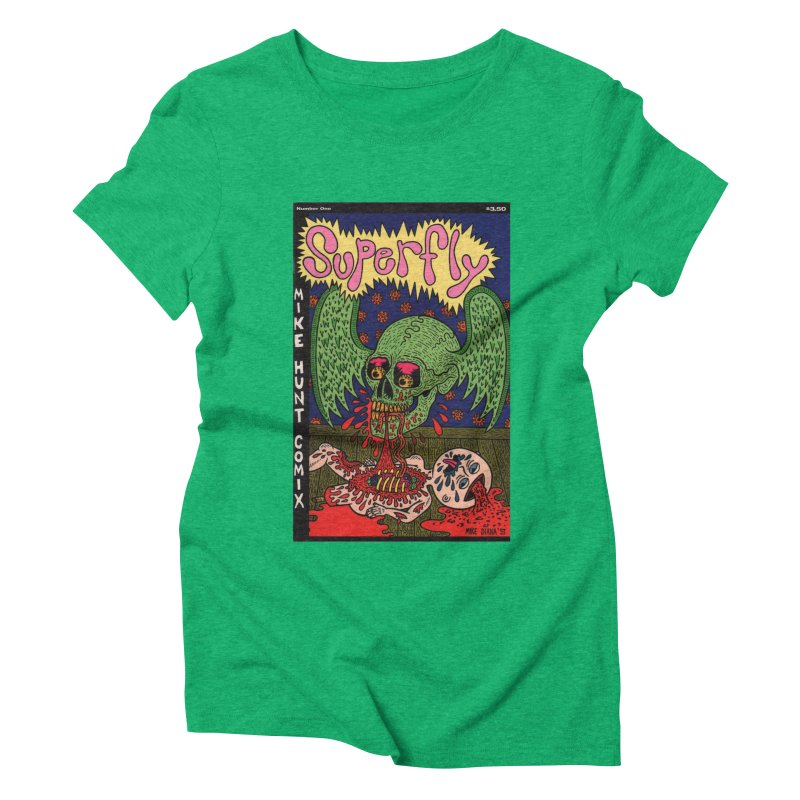 SUPERFLY Women's Triblend T-Shirt by Mike Diana T-Shirts Mugs and More!